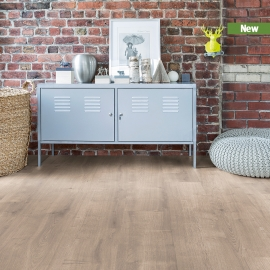 CLIX LAMINATE PLUS TAUPE OAK