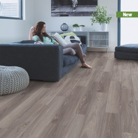 CLIX LAMINATE PLUS OAK SLATE GREY