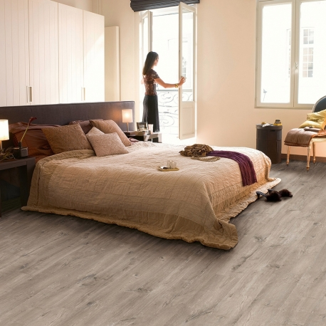 QUICK-STEP ELIGNA WIDE CARIBBEAN OAK GREY, PLANKS